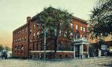 Outside View of YMCA, circa 1900; Mahaska County; Oskaloosa; Iowa