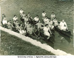 Canoeing, The University of Iowa, 1938