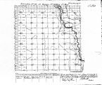 Iowa land survey map of t080n, r028w