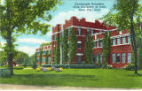 Quadrangle Hall, The University of Iowa, 1930