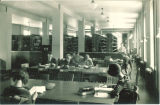 Education library in East Hall Annex, The University of Iowa, 1930s