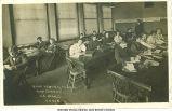 High school bookkeeping class, Le Mars, Iowa, 1910s