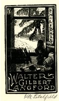 Walter Gilbert Langford Bookplate