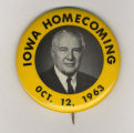 Homecoming badge ,October 12, 1963