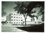 East facade of the Pharmacy Building, the University of Iowa, May 1963