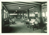 Formal lounge at Quadrangle Hall, The University of Iowa, January 20, 1926