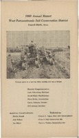 West Pottawattamie County Soil Conservation District Annual Report - 1960