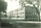 North exterior of Chemistry Building, The University of Iowa, 1960s