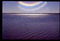 BIg Spirit Lake on a Sunny Day.
