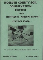 1965 Kossuth County Soil and Water Conservation District Annual Report