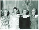 Mary Louise Smith and women posing at the National Women's Republican Club, New York, N.Y., March 22, 1975