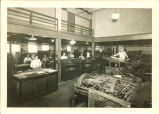 Print shop, The University of Iowa, 1940s?