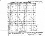 Iowa land survey map of t090n, r042w