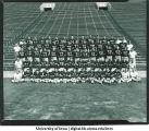 Iowa football team, The University of Iowa, September 16, 1954
