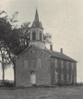 Ceres Church (St. Peter's German Evangelical Lutheran) at Ceres, Iowa -1927-view 2