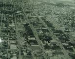 Aerial Image of Oskaloosa, Iowa, Circa 1940