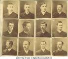 Individual class photos, The University of Iowa, 1880s