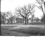 Old Capitol and Liberal Arts Building, The University of Iowa, 1904