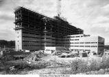 Veterans Hospital under construction, Iowa City, Iowa, March 1950