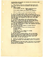 Rules for operating the construction corps trucks for the Japanese.