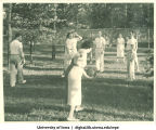 Volleyball, The University of Iowa, 1930s