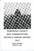 1972 Poweshiek County Soil and Water Conservation District Annual Report