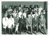 Biology department faculty and graduate students, The University of Iowa, 1961
