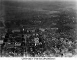 Business district, St. Mary's Church, Iowa City, Iowa, 1923