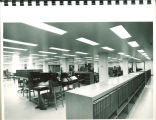 Main Library Acquisitions Department, the University of Iowa, 1972