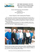 Cherokee County Soil Conservation District Annual Report - 2017-2018