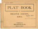 Plat book of Decatur County, Iowa