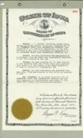 010 1945 Certificate Of Understanding