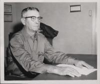 Man at his Desk.