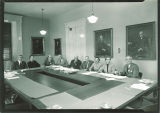 Iowa State Board of Regents meeting at Old Captitol, The University of Iowa, October 18, 1957