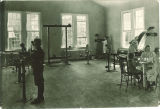 Orthopedic gym in the University of Iowa Hospitals and Clinics, the University of Iowa, 1919