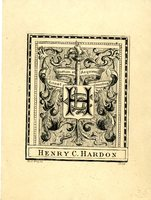Henry C. Hardon Bookplate