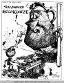 The ten billion dollar pot admonishes the two billion dollar kettle.