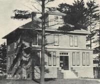 St. Joseph's Catholic Church rectory in Garnavillo, Iowa -1926
