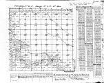 Iowa land survey map of t084n, r003w