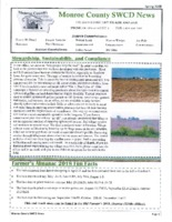 Monroe County SWCD newsletter, 2018