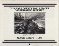 Delaware County Soil Conservation District Calendar & Annual Report - 1995