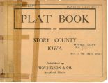 Plat book of Story County, Iowa