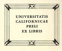 Universitatis Californicae Bookplate