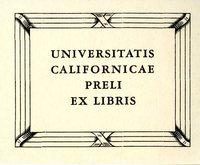 Universitatis Californicae Bookplate