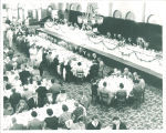 Banquet in the  Iowa Memorial Union, the University of Iowa, 1950s?