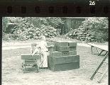 Children playing with blocks at preschool, The University of Iowa, 1920s