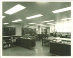 Special Collections department in the Main Library, the University of Iowa, April 18, 1966