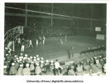 Iowa-Drake basketball game, The University of Iowa, 1930