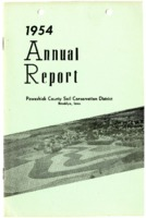 1954 Poweshiek County Soil and Water Conservation District Annual Report
