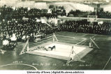 Wrestling meet between Iowa and Illinois, The University of Iowa, February 19, 1921